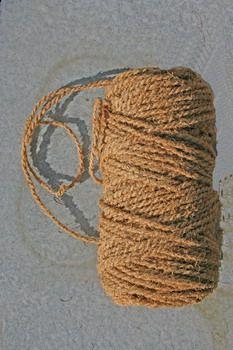 Kokosschnur Beutel (2-fach)